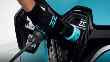 Z.E. handskar