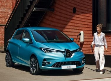 Renault ZOE laddning