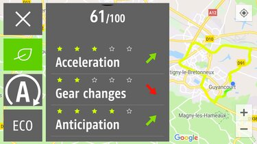 ECO Map – Renault Connect