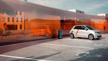 Polnjenje novega vozila TWINGO Electric na javnih polnilnih točkah