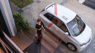 Polnjenje novega vozila TWINGO Electric doma