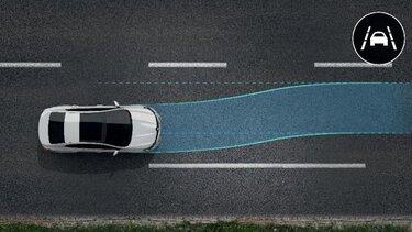 Sustav za održavanje vozila u voznom traku - LKA