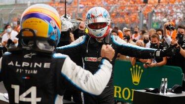 Moštvo Alpine F1 je osvojilo neverjetno prvo zmago