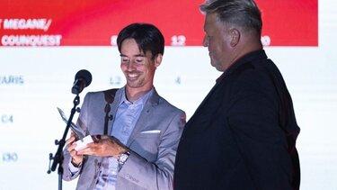 François Delion na podelitvi nagrad