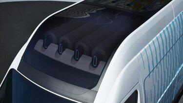Prototipni model Renault Master furgon H2-TECH