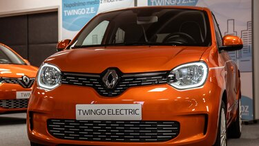 Renault TWINGO in TWINGO Electric I FEEL SLOVENIA