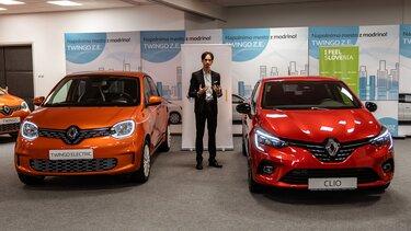 Renault TWINGO in CLIO I FEEL SLOVENIA