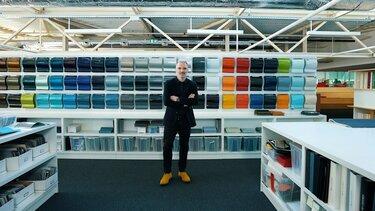 François Farion, glavni oblikovalec na področju barv v svojem delovnem okolju