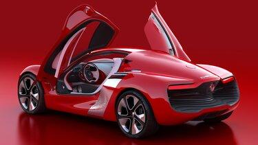 Rdeči športni avtomobil