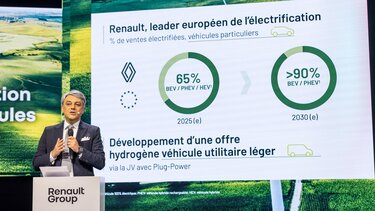 Luca de Meo na skupščini Skupine Renault