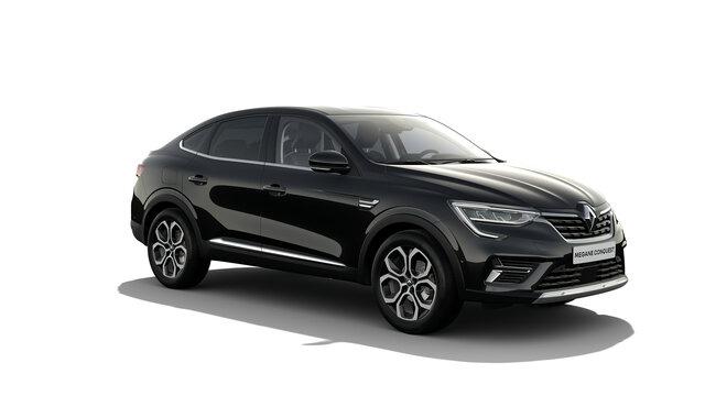 Črni Renault Megane CONQUEST