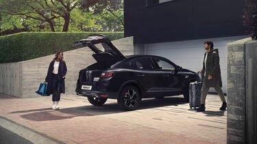 Kapacitet prtljažnika – Renault MEGANE Conquest E-TECH hibrid SUV