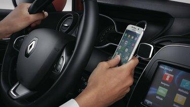 Renault CLIO - držiak smartfónu