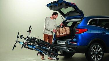 Nový Renault KADJAR – nosič byciklov na ťažné zariadenie