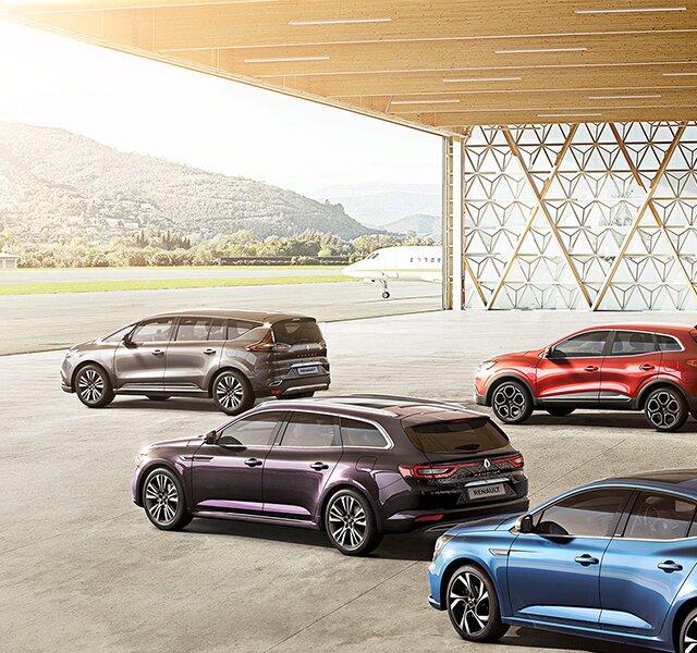 Skladové vozy Renault