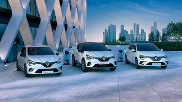 A Renault elektromos autó választéka