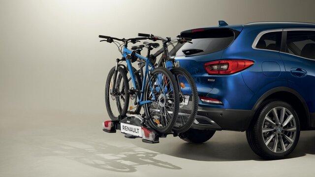 Nosič bicyklov na ťažné zariadenie Coach pre 2 - 4 bicykle, výklopný