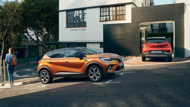 Mestské a prispôsobiteľné SUV Renault CAPTUR