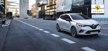 Exteriér hybridného mestského auta CLIO