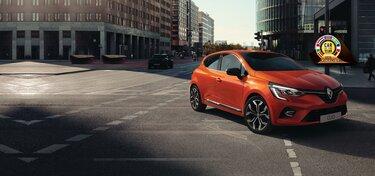 Malé Clio oranžový exteriér