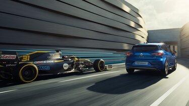 Renault Formula 1 ve Renault Clio R.S. Line