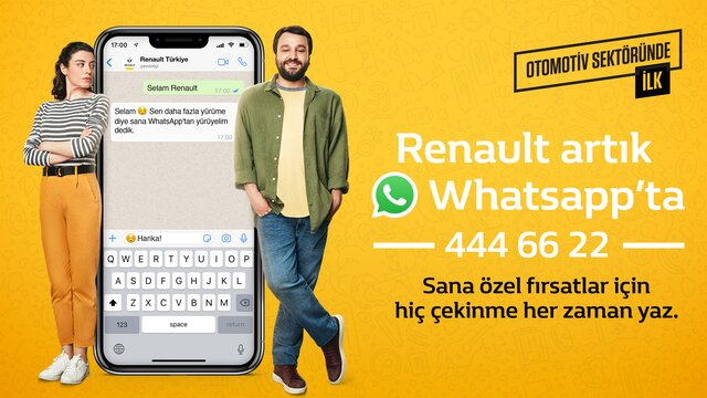 Renault Wahtsapp