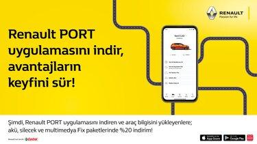 Renault PORT - satış sonrası kampanyası