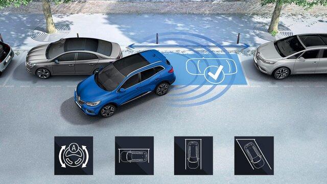 Renault KADJAR 360°park destek sistemi