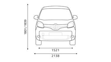Renault KANGOO Multix Boyutlar