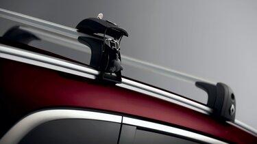Yeni Renault KOLEOS QuickFix Alüminyum uzunlamasına tavan barları