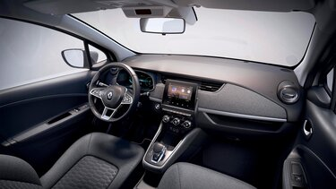 Renault ZOE sürücü ekranı ve torpido