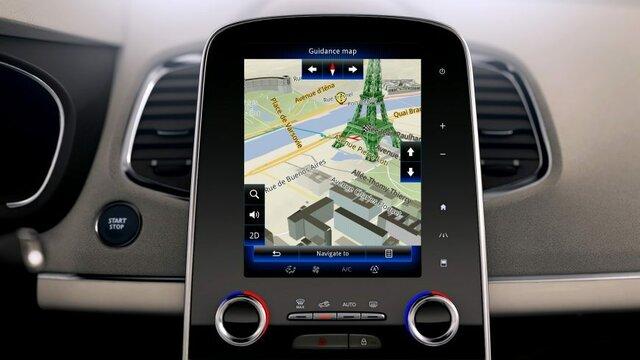 оновлення карт - Renault EASYCONNECT