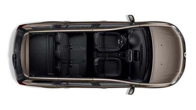 Renault LOGAN MCV - Вигляд зверху
