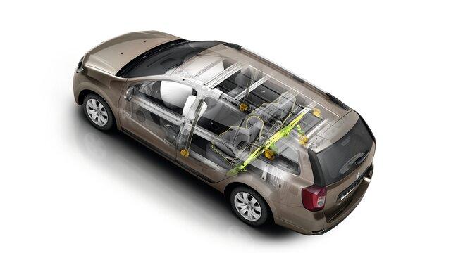 Renault LOGAN MCV - Система Media Nav Evolution