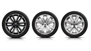 Renault SANDERO - Алюмінієві колісні диски