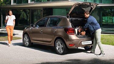 Renault SANDERO - багажник