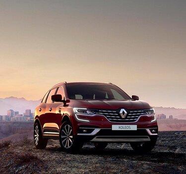Абсолютно новий Renault KOLEOS - Сімейний повнопривідний позашляховик