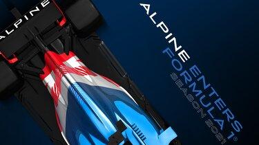 Команда Alpine F1® Team представлятиме групу Renault з 2021 року