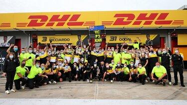 Другий подіум Renault DP World F1 Team в новій історії Формули-1