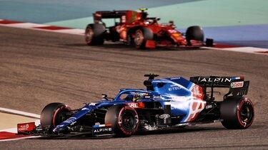 Команда Alpine F1 Team на Гран-прі Бахрейна