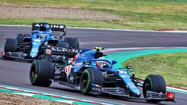 Естебан та Фернандо набирають перші очки в сезоні на Гран-прі Емілії-Романьї