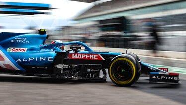 Подвійні очки для команди Alpine F1 Team