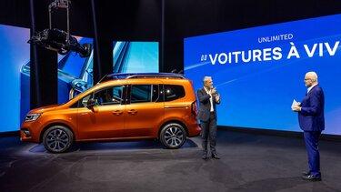 Новий KANGOO: елегантний і просторий багатоцільовий автомобіль