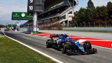 Команда Alpine F1 забрала додому два очки з Гран-Прі Іспанії після завзятої боротьби