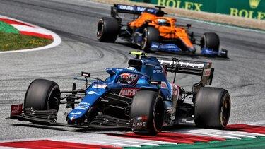 Фернандо продовжує набирати очки на Гран-Прі Штирії