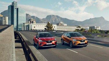 Модельний ряд Renault CAPTUR