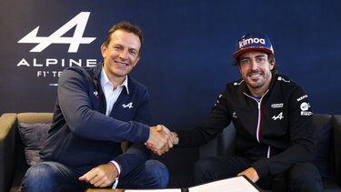 Alpine F1 Team продовжила контракт з Алонсо на 2022