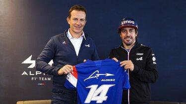 Фернандо Алонсо, пілот Alpine F1 Team